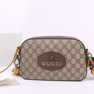 NWT Gucci Vintage Supreme Messenger Shoulder Bag